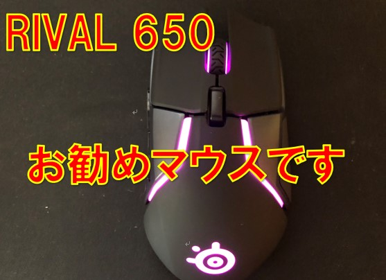 SteelSeries Rival 650の画像