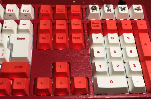 まどマギキーボードのレビュー画像