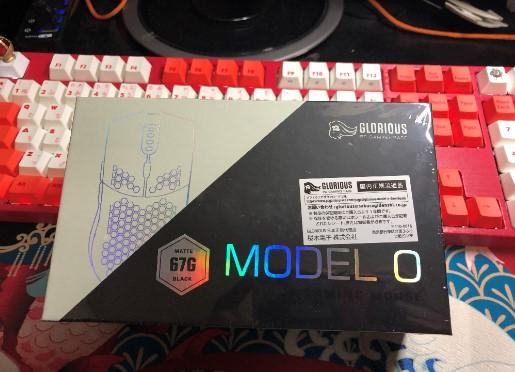 Glorious Model O をレビュー画像
