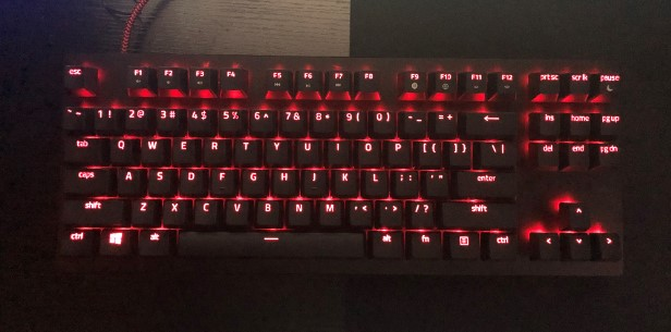 Razer Huntsman Tournament Editionのレビュー画像