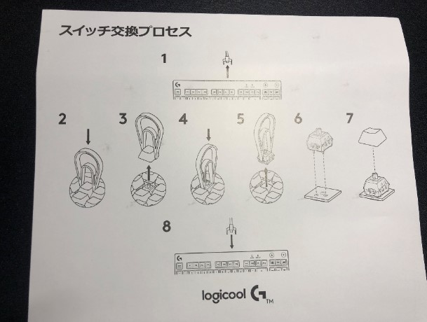 Logicool G PRO Xのレビュー画像