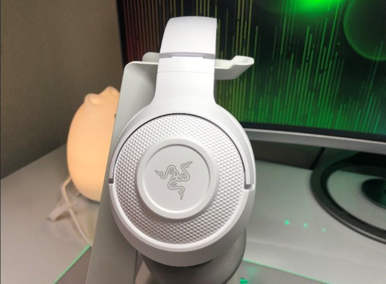 Razer Kraken X Mercury Whiteの画像