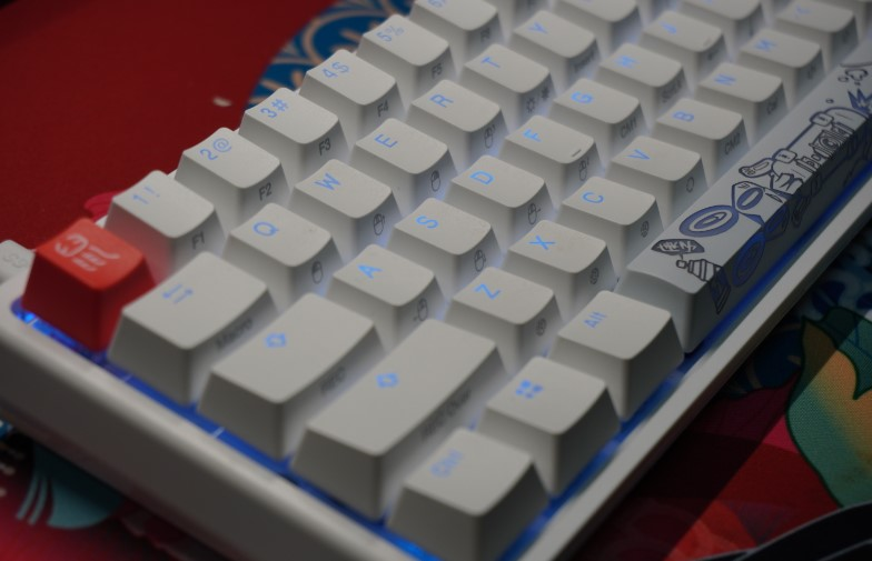 Ducky One 2 Mini Pure White RGB 60%のレビュー画像