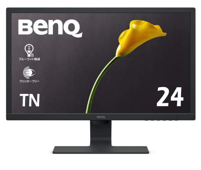 BenQ モニター ディスプレイ GL2480 24インチ