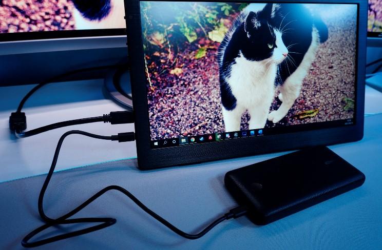 I-O DATA13.3型モバイルモニターEX-LDC131DBMのレビュー画像