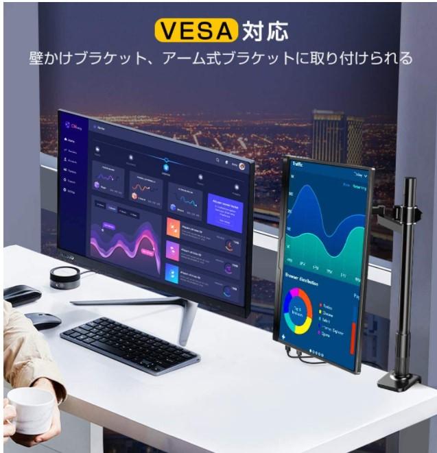 EVICIV 15.6インチ ゲームモニターフルHDモデル