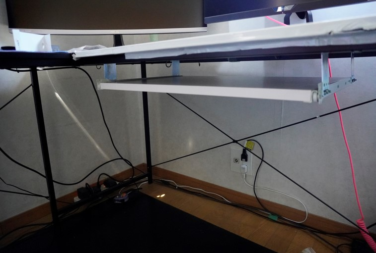 自作キーボードスライダー構築説明の画像