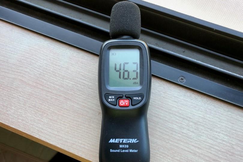 ノイキャンテスト騒音計の画像