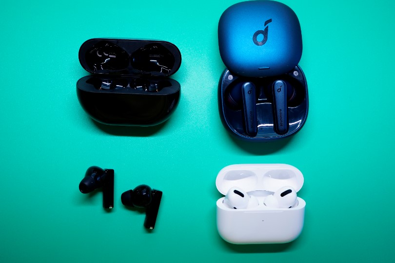 HUAWEI FreeBuds ProとAirPods ProとAnker Soundcore Liberty Air 2 Proの比較